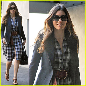 Jessica Biel: My Restaurant Au Fudge Will Open Soon