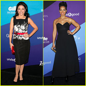Julia Louis-Dreyfus & Alicia Keys: unite4:humanity Honorees!