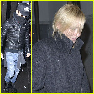 Justin Theroux & Cate Blanchett Visit Mimi O'Donnell After Philip Seymour Hoffman's Death