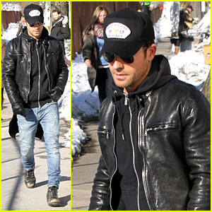 Justin Theroux Films 'Leftovers' on Jennifer Aniston's 45th Birthday!