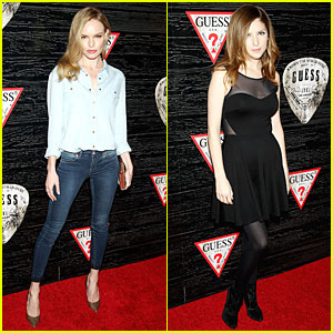 Kate Bosworth & Anna Kendrick: Guess Nashville Collection Celebration!