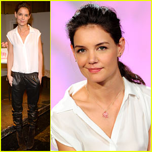 Katie Holmes Teams Up with Kohl's for Breast Cancer Awareness