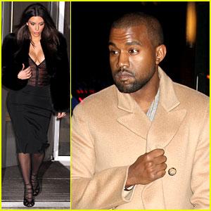 Kim Kardashian Wears Low Cut Top After Proposal Airs on TV!
