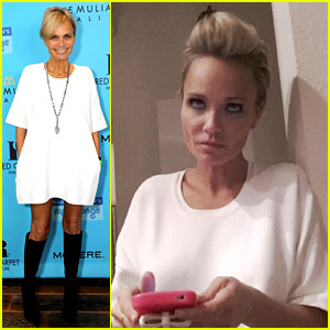 Kristin Chenoweth is Not So Happy with Boyfriend Dana Brunetti - See the Funny Photo Here!