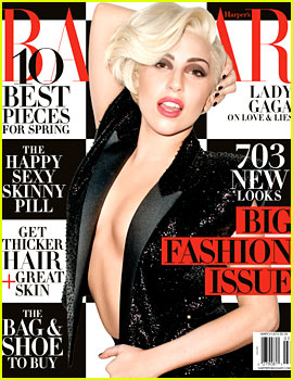 Lady Gaga Reveals to 'Harper's Ba