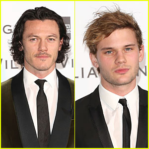 Luke Evans & Jeremy Irvine Suit Up at William Vintage Dinner!