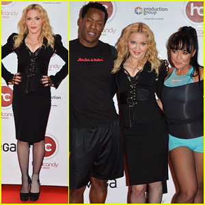 Madonna: Hard Candy Fitness Toronto Grand Opening!