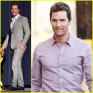 Matthew McConaughey Talks 'True Detective' on 'J
