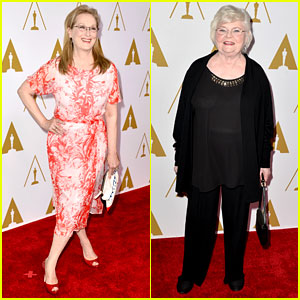 Meryl Streep & June Squibb - Oscars Nominees Luncheon 2014