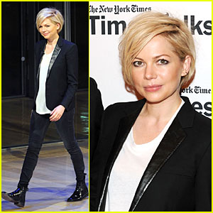 Michelle Williams: 'Cabaret' Promo at Times Center!