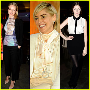 Naomi Watts & Anna Kendrick: Dalai Lama Event with Sharon Stone!