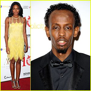 Naomie Harris & Barkhad Abdi: London Critics' Circle Film Awards