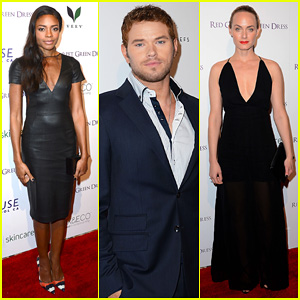 Naomie Harris & Kellan Lutz: Eco Fashion Campaign Party!