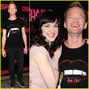 Neil Patrick Harris: 'Hedwig & the Angry Inch' Photo Call in Snow-Laden NYC!