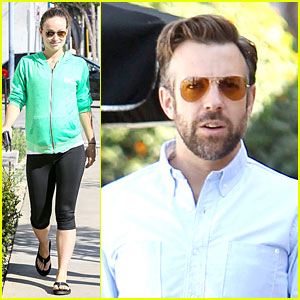 Olivia Wilde & Jason Sudeikis End Week with Separate Lunch Outings!