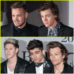One Direction - BRIT Awards 2014 Red Carpet