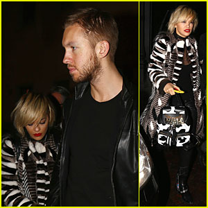 Rita Ora & Calvin Harris: Italian Dinner Date at Giacomo Restaurant!
