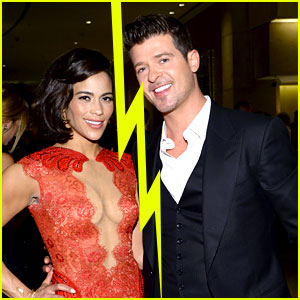 Robin Thicke & Paula Patton Split After 8 Years of Marriage