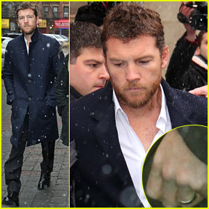 Sam Worthington Leaves Court After Arrest, Fuels Wedding Rumors with Ring on Finger