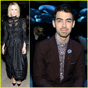 Sarah Paulson & Joe Jonas End Fashion Week at Marc Jacobs