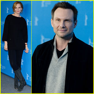 Uma Thurman & Christian Slater: 'Nymphomaniac' Photo Call & Press Conference