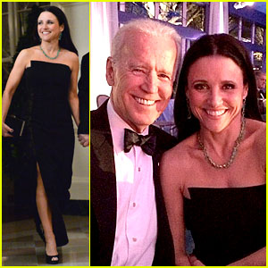 Veep's Julia Louis-Dreyfus Meets the Real VP at State Dinner!