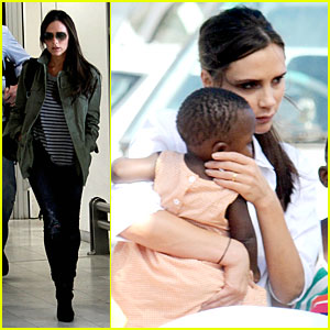 Victoria Beckham Spends Time with LaLeLa Children in Cape Town!