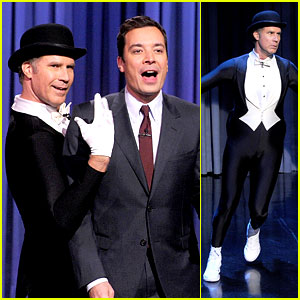 Will Ferrell Figure Skates to the 'Downton Abbey' Theme! (Video)