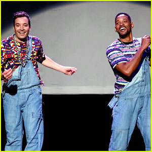 Will Smith & Jimmy Fallon: Evolution of Hip-Hop Dancing! (Video)