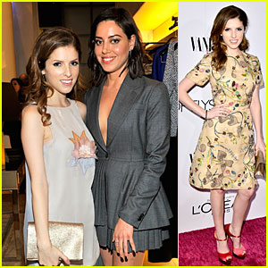 Anna Kendrick & Aubrey Plaza Hang Out at Two Pre-Oscar Parties!