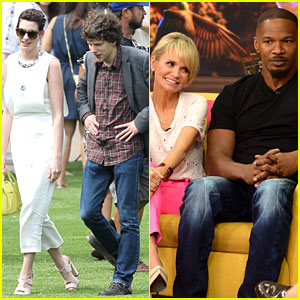 Anne Hathaway & 'Rio 2' Cast Continue Press Tour in Miami!