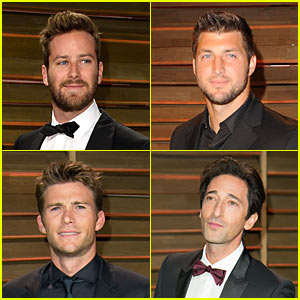 Armie Hammer & Scott Eastwood: Vanity Fair Oscars Party 2014!