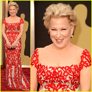 Bette Midler Walks Carpet Before First Oscars Performance Ever