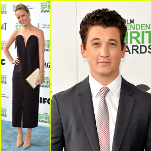 Brie Larson & Miles Teller - Independent Spirit Awards 2014