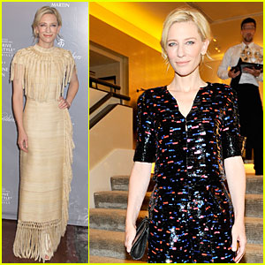 Cate Blanchett Changes It Up at Rodeo Drive Awards & Giorgio Armani Celebration!