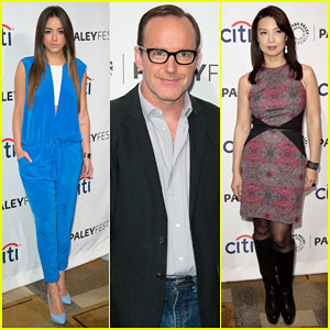 Chloe Bennet & Clark Gregg Promote 'Agents of S.H.I.E.L.D' at PaleyFest!