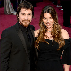 Christian Bale & Wife Sibi Blazic - Oscars 2014 Red Carpet