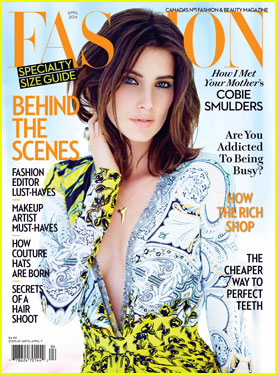Cobie Smulders Takes the Plunge for 'Fashion Magazine'!