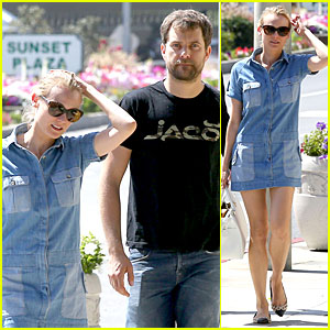 Diane Kruger & Joshua Jackson Just Love Their Denim!