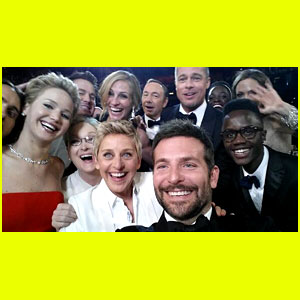 Ellen DeGeneres: Oscars Selfie with TONS of Stars - See it Here!
