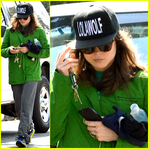 Ellen Page Says She Eats So She Can Poop