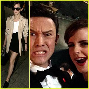 Emma Watson: Joseph Gordon-Levitt Shares Funny Selfie!