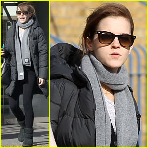 Emma Watson Was 'Nervous' to Present at 2014 Oscars!
