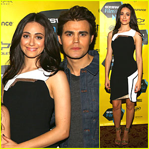 Emmy Rossum & Paul Wesley Premiere 'Before I Disappear' at SXSW!