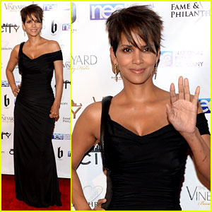 Halle Berry Celebrates the Oscars with 'Fame & Philanthropy'