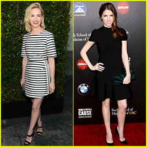 January Jones & Anna Kendrick Are 'Rebels With a Cause'!