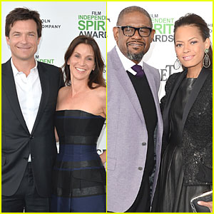 Jason Bateman & Forest Whitaker Bring Wives to Independent Spirit Awards 2014!