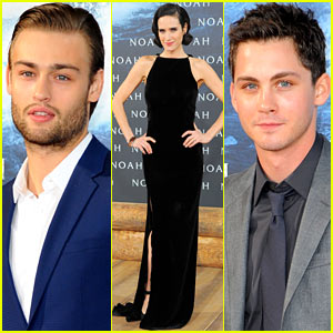 Jennifer Connelly & Douglas Booth Bring 'Noah' to Berlin, Premiere Film with Logan Lerman!