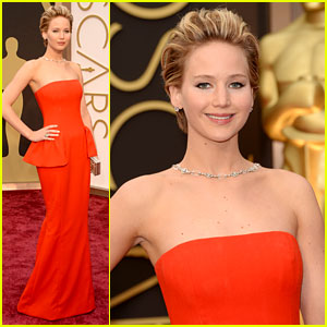 Jennifer Lawrence - Oscars 2014 Red Carpet
