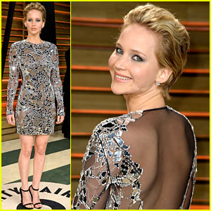 Jennifer Lawrence - Vanity Fair Oscars Party 2014